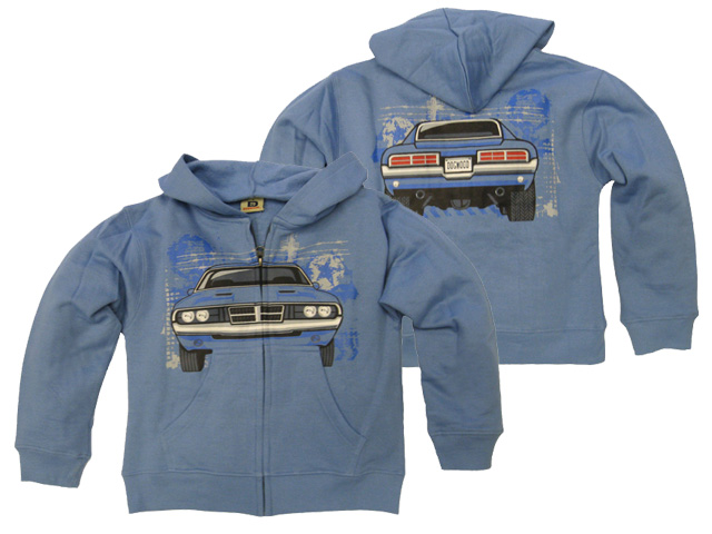 Muscle Car Zip Hood