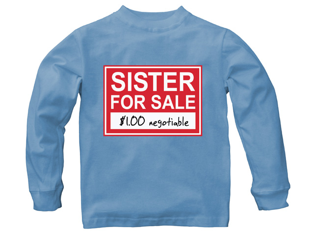 Sister For Sale Chambray