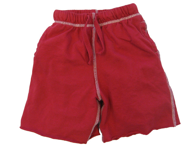 College Sweat Short Red