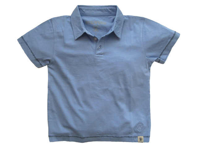 Extra Soft Polo Chambray
