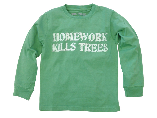Homework Kills Trees Grass
