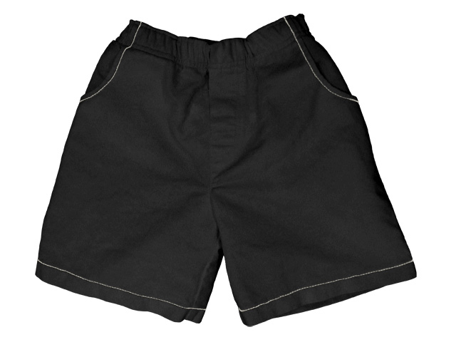 French Twill Short Black