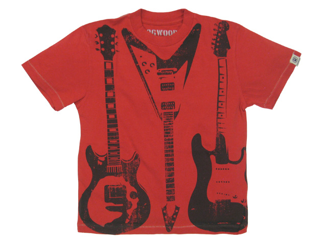 Three Guitars Red