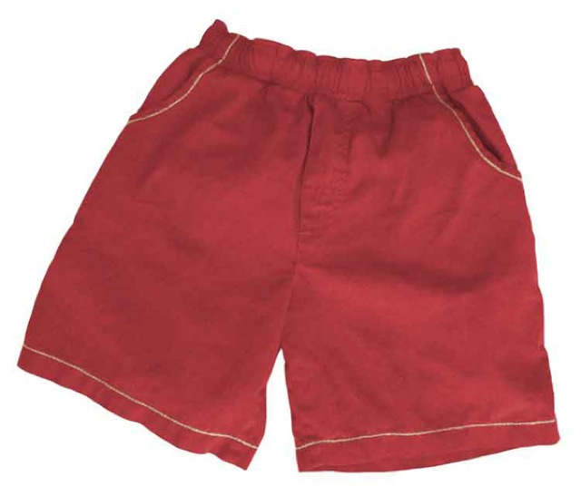 Beach Short Red