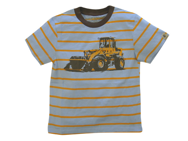 Bulldozer Striped