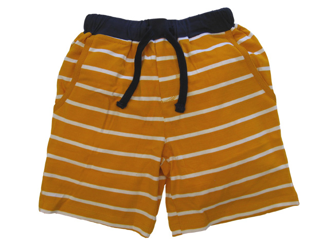 Kick Around Short Striped Orange