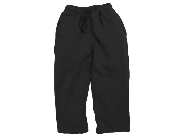 College Sweat Pant Black