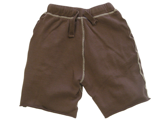 College Sweat Short Cocoa