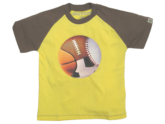 All Ball Raglan Yellow