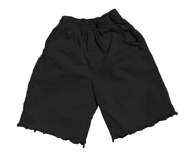 Cut Off Short Black