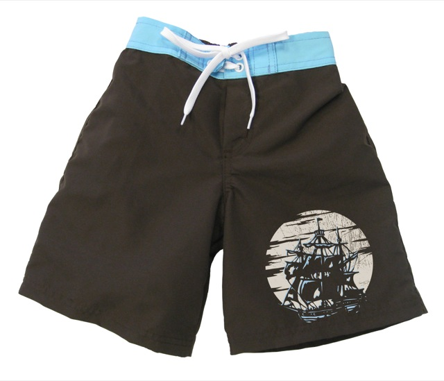 Pirate Ship Boardshort