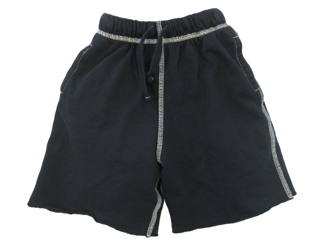 College Sweat Short Black