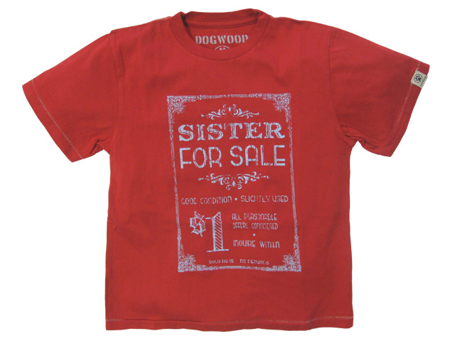 Retro Sister For Sale Red