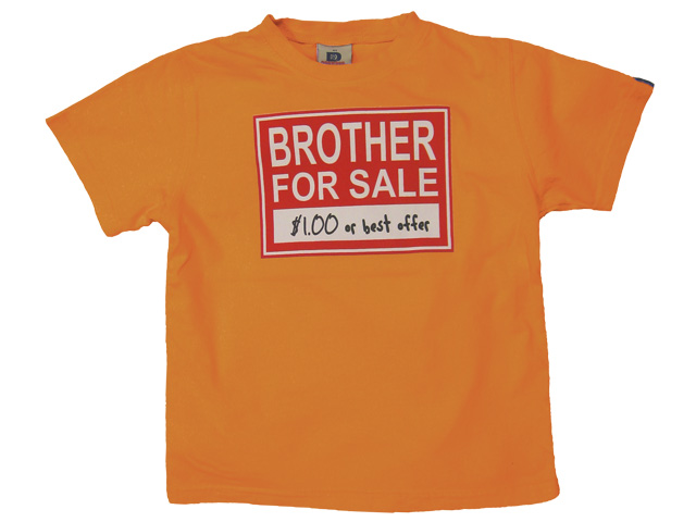 Brother For Sale Orange